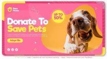 پروژه افترافکت تیزر حمایت از حیوانات Adopt Me Pet Promo
