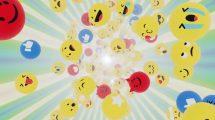 فوتیج موشن گرافیک ایموجی Adventures In World Emoji 01
