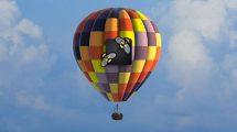 پروژه افترافکت نمایش لوگو با بالون Air Balloon Logo