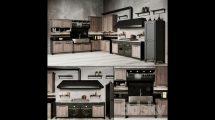 مدل سه بعدی آشپزخانه Anteprima Vintage Kitchen