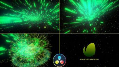 پروژه داوینچی نمایش لوگو با افکت انرژی Big Bang Energy Logo