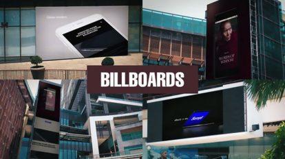 پروژه افترافکت بیلبورد تبلیغاتی Billboards