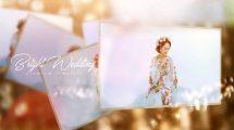 پروژه افترافکت نمایش عکس عروسی Bright Wedding