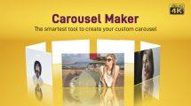 پروژه افترافکت ساخت انیمیشن چرخ و فلکی Carousel Maker