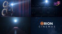 پروژه پریمیر افتتاحیه سینمایی Cinema Opener Premiere Pro