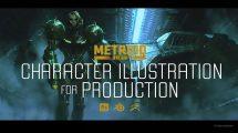 آموزش تصویرسازی با کاراکتر برای تولید سینمایی Cinematic Character Illustration