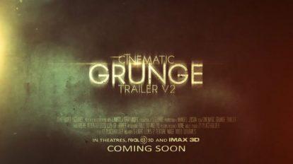 پروژه افترافکت تریلر سینمایی Cinematic Grunge Trailer