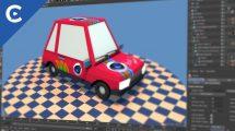 آموزش ساخت تکسچر برای ماشین کارتونی Toon Car Texturing