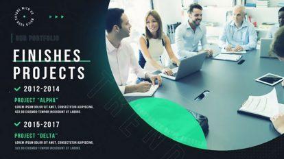 پروژه افترافکت اسلایدشو شرکتی مینیمال Minimal Corporate Slideshow