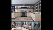 مدل سه بعدی آشپزخانه Cuisine Marchi Cucine Panamera