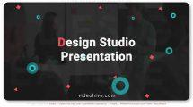 پروژه افترافکت پرزنتیشن استودیو طراحی Design Studio Presentation