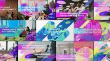 پروژه افترافکت تیزر تبلیغاتی بازاریابی دیجیتال Digital Marketing Agency Promo