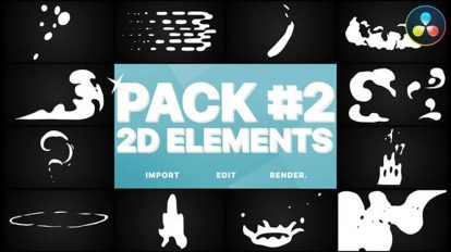 پروژه داوینچی المان گرافیکی برای ویدیو Flash FX Elements Pack 02
