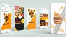 پروژه افترافکت تیزر تبلیغاتی غذا برای شبکه اجتماعی Food Restaurant Promo Social