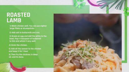پروژه داوینچی مجموعه استوری غذا Foodie Story