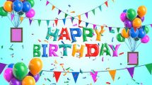 پروژه افترافکت تبریک تولد Happy Birthday Wishes