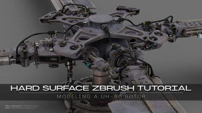 آموزش مدلسازی سطوح سخت در زیبراش Hard Surface ZBrush Tutorial