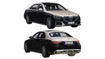 مدل سه بعدی خودرو مرسدس بنز Mercedes Benz S-Class Maybach 2021