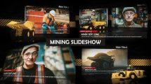 پروژه افترافکت اسلایدشو معدن Mining Slideshow