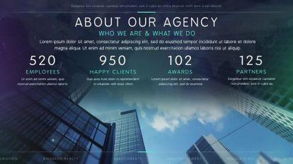 پروژه افترافکت تیزر تبلیغاتی مشاور املاک Modern Agency Real Estate