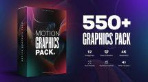 پروژه افترافکت مجموعه موشن گرافیک Motion Graphics Pack