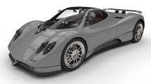 مدل سه بعدی خودرو پاگانی Pagani Zonda C12