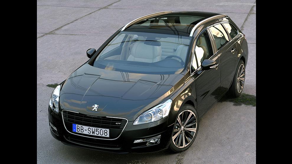 مدل سه بعدی خودرو پژو Peugeot 508 SW