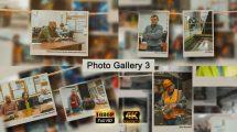 پروژه افترافکت گالری عکس Photo gallery