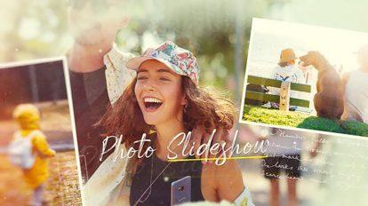 پروژه افترافکت اسلایدشو عکس Photo Slideshow Beautiful Moments