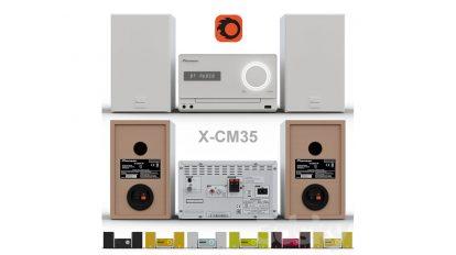 مدل سه بعدی پخش کننده پایونیر Pioneer X-CM35