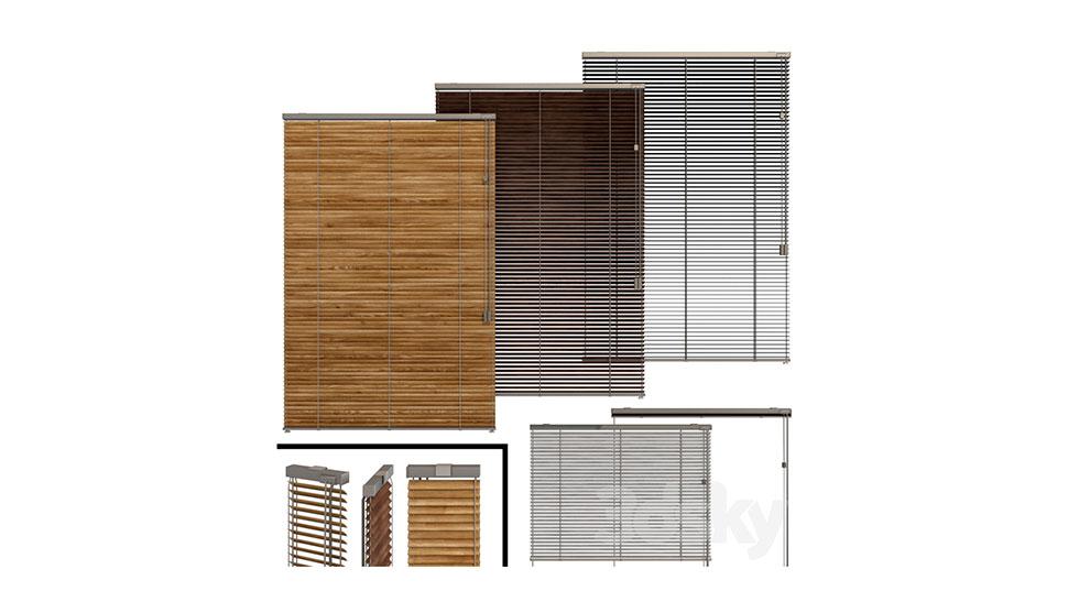 مجموعه مدل سه بعدی کرکره Shutter for Windows and Doors