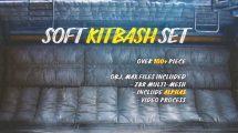 مجموعه مدل سه بعدی سطوح نرم Soft Kitbash Set Vol 1