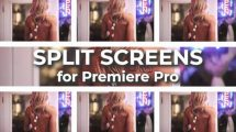 پروژه پریمیر مجموعه المان جداسازی تصویر Split Screens Kit