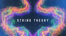 پروژه افترافکت نمایش عناوین انتزاعی String Theory