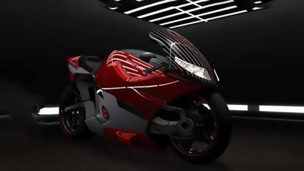 مدل سه بعدی موتورسیکلت سوزوکی Suzuki Nuda II Concept Bike