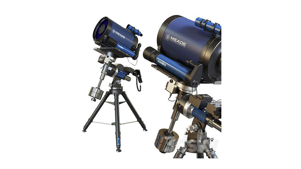 مدل سه بعدی تلسکوپ Telescope Meade 12