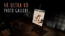 پروژه پریمیر نمایش عکس عروسی در استودیو هنری Wedding Photo Gallery