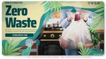 پروژه افترافکت تیزر تبلیغاتی زباله صفر Zero Waste Promo