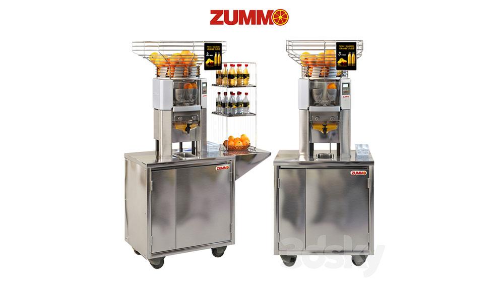 مدل سه بعدی دستگاه آبمیوه گیری Zummo Z14
