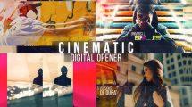 پروژه افترافکت اسلایدشو سینمایی Digital Opener Slideshow