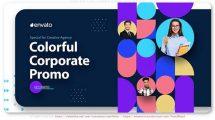 پروژه افترافکت تیزر تبلیغاتی شرکتی Colorful Corporate Promo