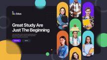 پروژه افترافکت تیزر تبلیغاتی آموزشی Colorful Education Promo
