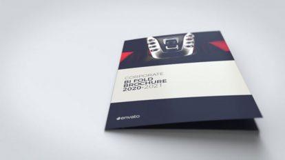 پروژه افترافکت موکاپ بروشور شرکتی Corporate Brochure Mockup