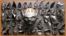 مجموعه براش زیبراش گوش Ears ZBrush VDMs