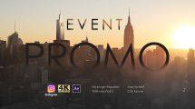 پروژه افترافکت تیزر تبلیغاتی مراسم Event Promo