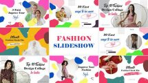 پروژه افترافکت اسلایدشو فشن Fashion Promotion Slideshow
