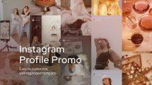 پروژه افترافکت تیزر تبلیغاتی اینستاگرام Instagram Profile Promo
