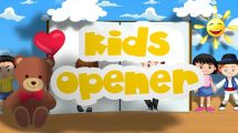 پروژه افترافکت افتتاحیه کودکان Kids Opener