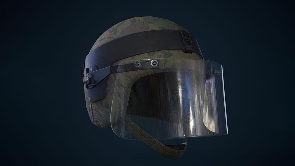 مدل سه بعدی کلاه خلبانی Helmet Kiver-M