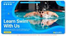 پروژه افترافکت تیزر تبلیغاتی استخر Lets Swim Pool Promo
